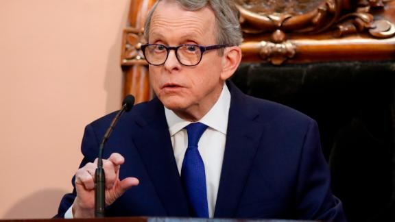 Ohio Governor Mike DeWine said  companies are cutting off drug supplies to the state.