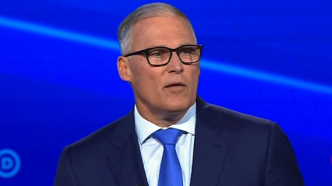 Washington Gov. Jay Inslee drops out of presidential race