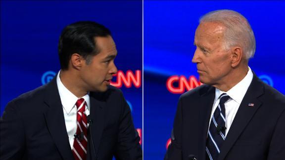 castro biden cnn dem debate