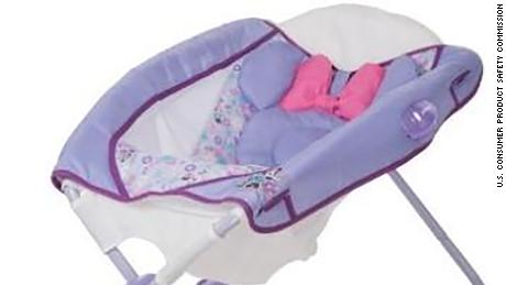 24,000 inclined sleepers sold under the Disney and Eddie Bauer names have been recalled.