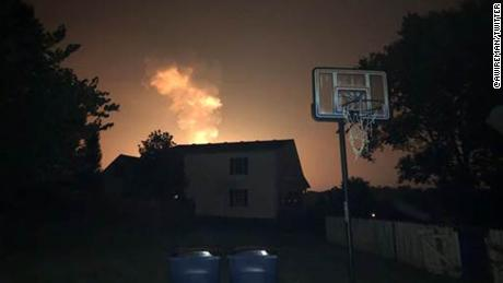 Authorities evacuated  residents in portions of Lincoln County following a gas explosion.