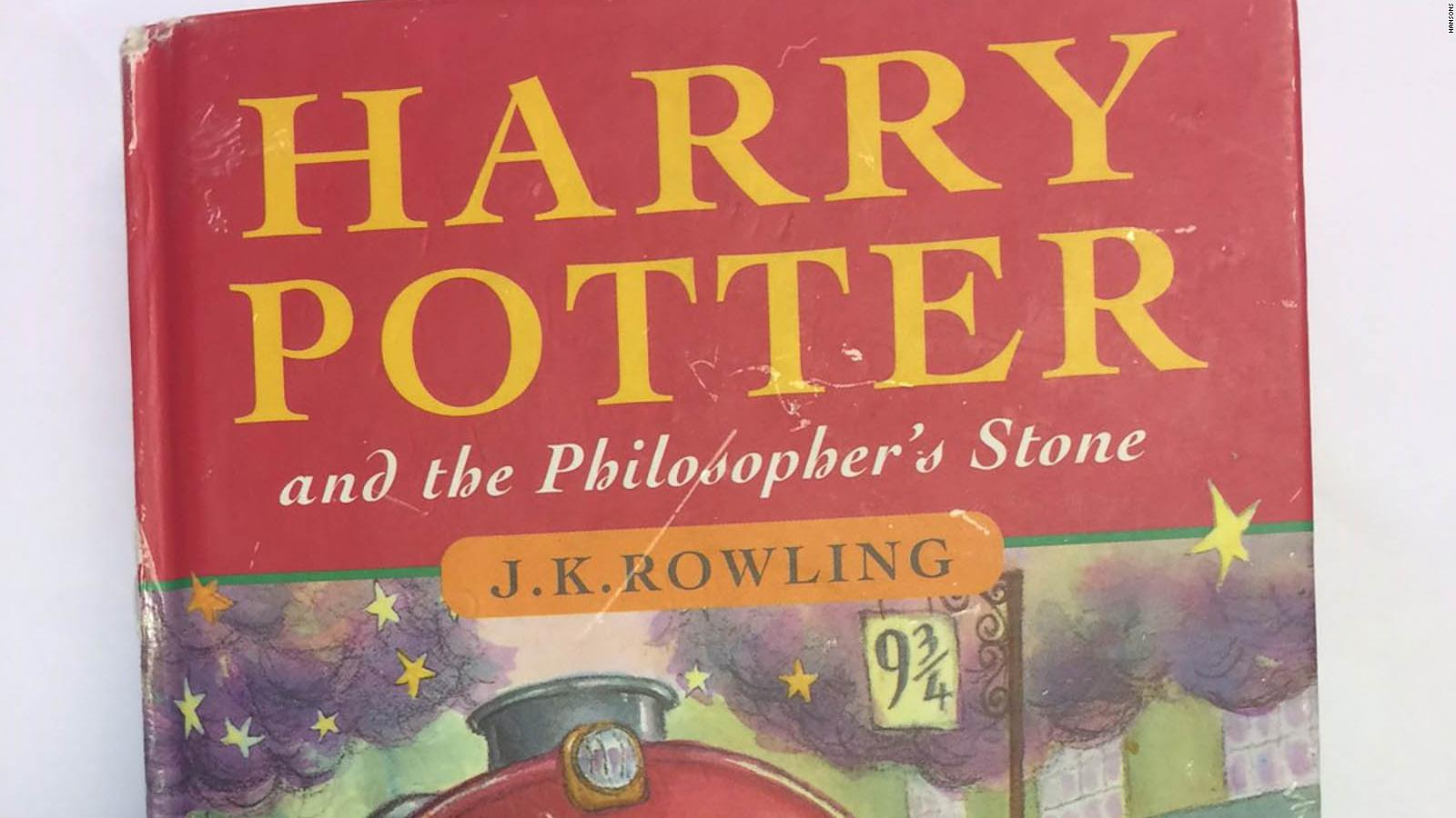 Rare first edition Harry Potter book sells for $34,500 at