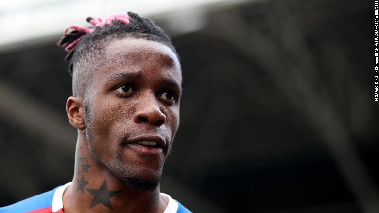 Wilfried Zaha of Crystal Palace has been linked with a move away from Selhurst Park.