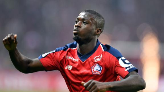 Nicolas Pepe joined Arsenal in a deal worth a reported £72 million ($87 million)