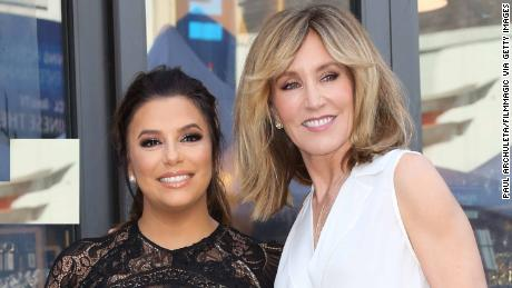Eva Longoria says Felicity Huffman handled college cheating scandal with 'grace'