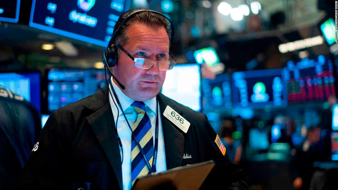 why is the dow down today