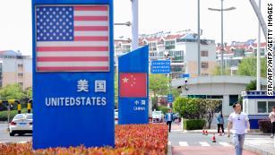 Asia tech stocks fall after Trump renews US-China trade war