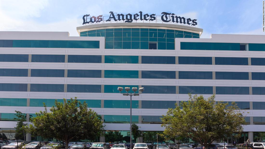 Turmoil Inside The L A Times As Weak Digital Subscription Numbers Spark All Staff Meeting Cnn