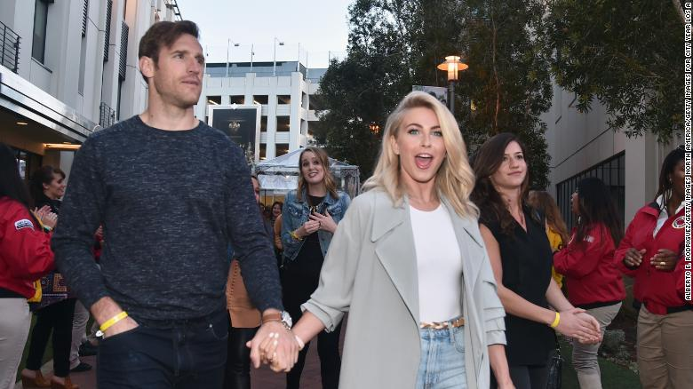 Julianne Hough's estranged husband Brooks Laich says he's cried a lot since their split
