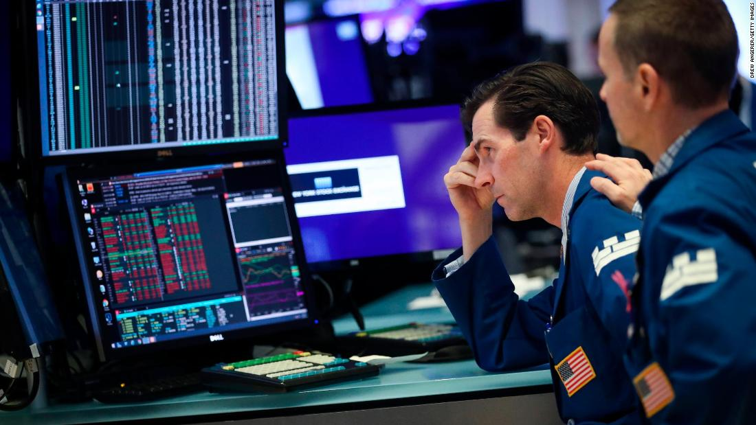 Dow logs second week of losses after volatile trading - CNN