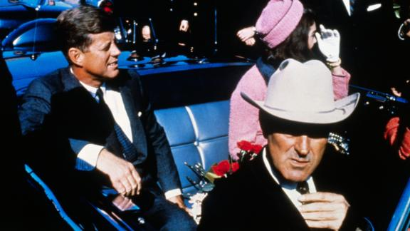 President John F. Kennedy was assassinated during a motorcade in Dallas on November 22, 1963. He was 46.