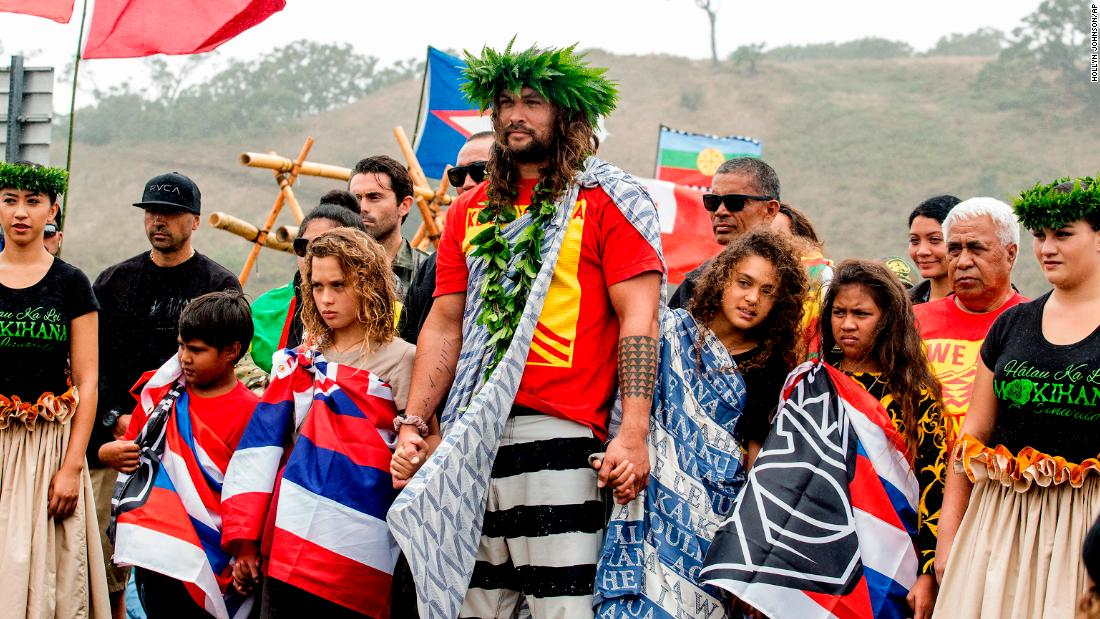 Inside Jason Momoa's fight for a sacred Hawaiian mountain