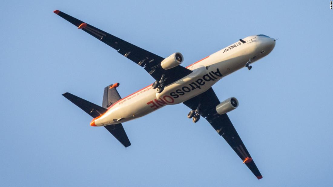 Airbus has a plane with flapping wingtips -- and they just got even longer