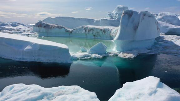 The July record comes after a period of extremely hot weather around the world which has triggered mass melting of Greenland's ice sheet.