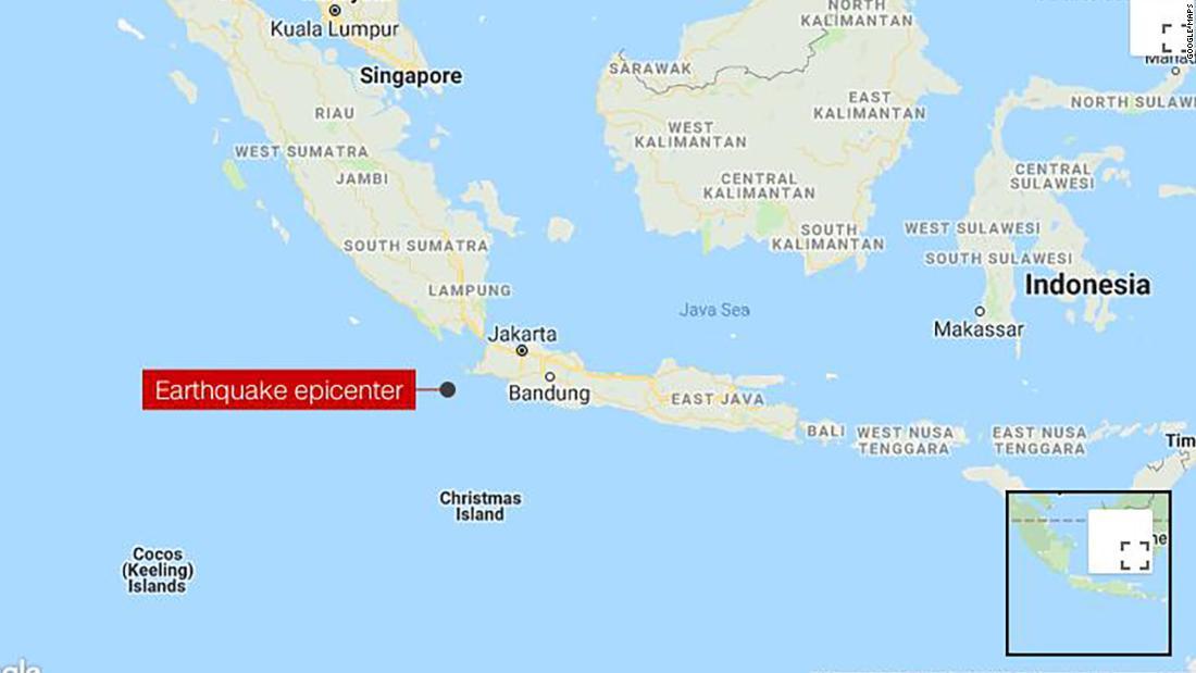 Indonesia earthquake strikes west coast - CNN