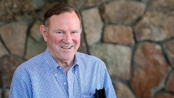 SUN VALLEY, ID - JULY 9:  Donald E. Graham, former publisher of the Washington Post, arrives for the annual Allen & Company Sun Valley Conference, July 9, 2019 in Sun Valley, Idaho. Every July, some of the world