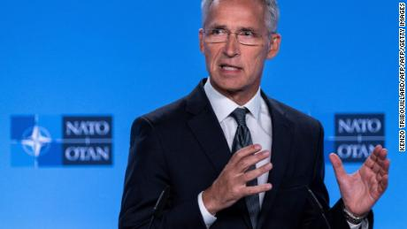 "Jens Stoltenberg called the end of the Intermediate-Range Nuclear Forces (INF) Treaty with Moscow a ""serious setback."""
