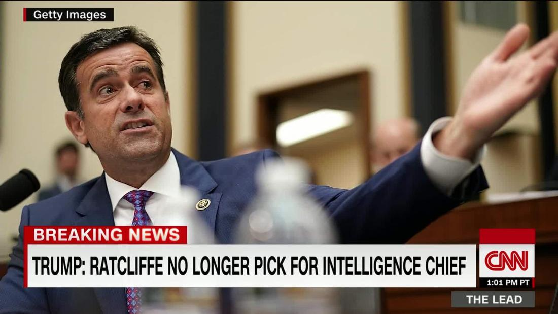 With Ratcliffe, another Trump nominee withdraws with a damaged reputation