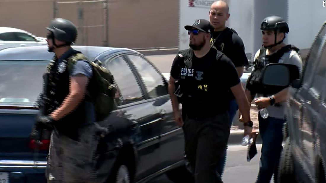 Police in El Paso, Texas, are responding to an active shooter