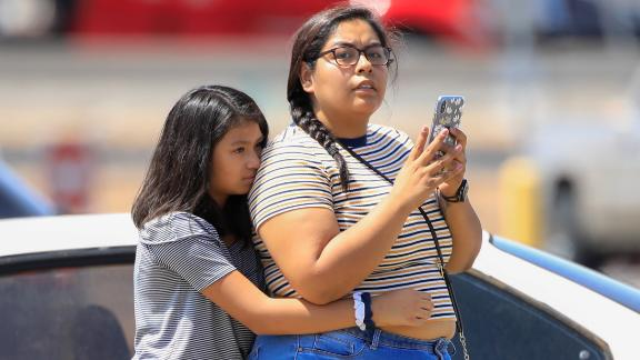 The El Paso shooting happened on a Saturday morning when the stores were busy with customers. Police said the first call about the shooting came in at 10:39 a.m., and police were on the scene within six minutes.