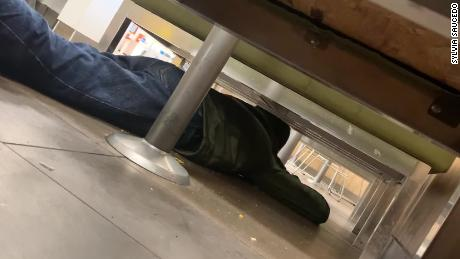 Incredible Video Shows Man Hiding As Shots Ring Out Inside Walmart Gmtry Best Dining Table And Chair Ideas Images Gmtryco