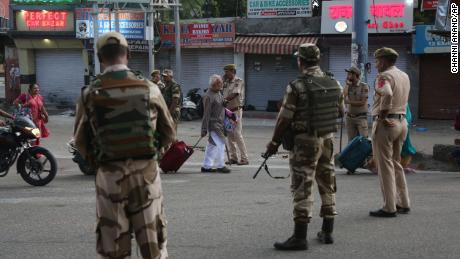 Kashmir in lockdown as India status