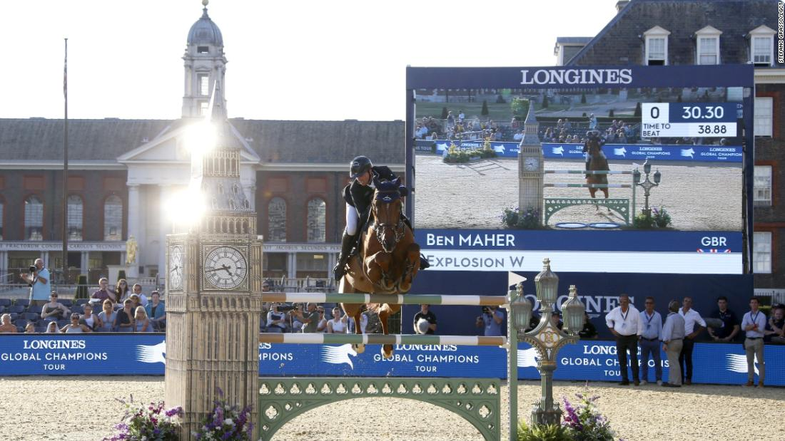 Winless all season, defending overall LGCT champion Ben Maher hits back with a bang on Explosion W on home soil.