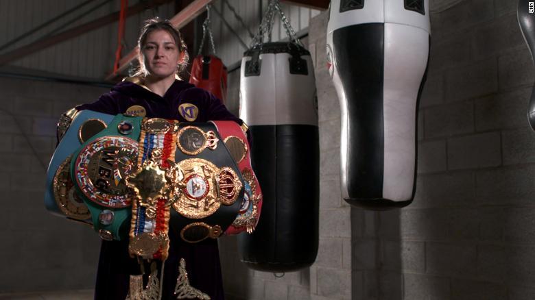 ผลการค้นหารูปภาพสำหรับ From fighting 'as a boy' to undisputed champion. How Katie Taylor boxed clever