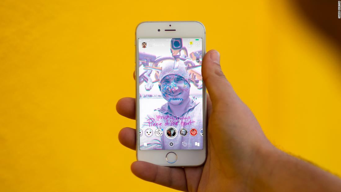 Snapchat creators earn serious money from making photo filters