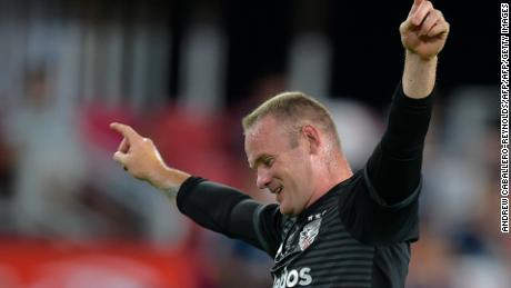 Wayne Rooney has scored 25 goals and assisted 13 in 46 matches at D.C. United.