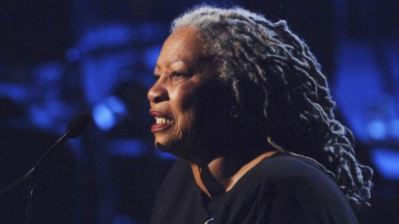 Toni Morrison at a performance in 2005