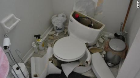 Image result for lightning toilet explodes