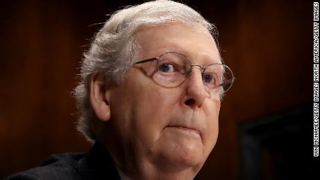 Pressure for the Senate to act on guns follows McConnell home to Kentucky