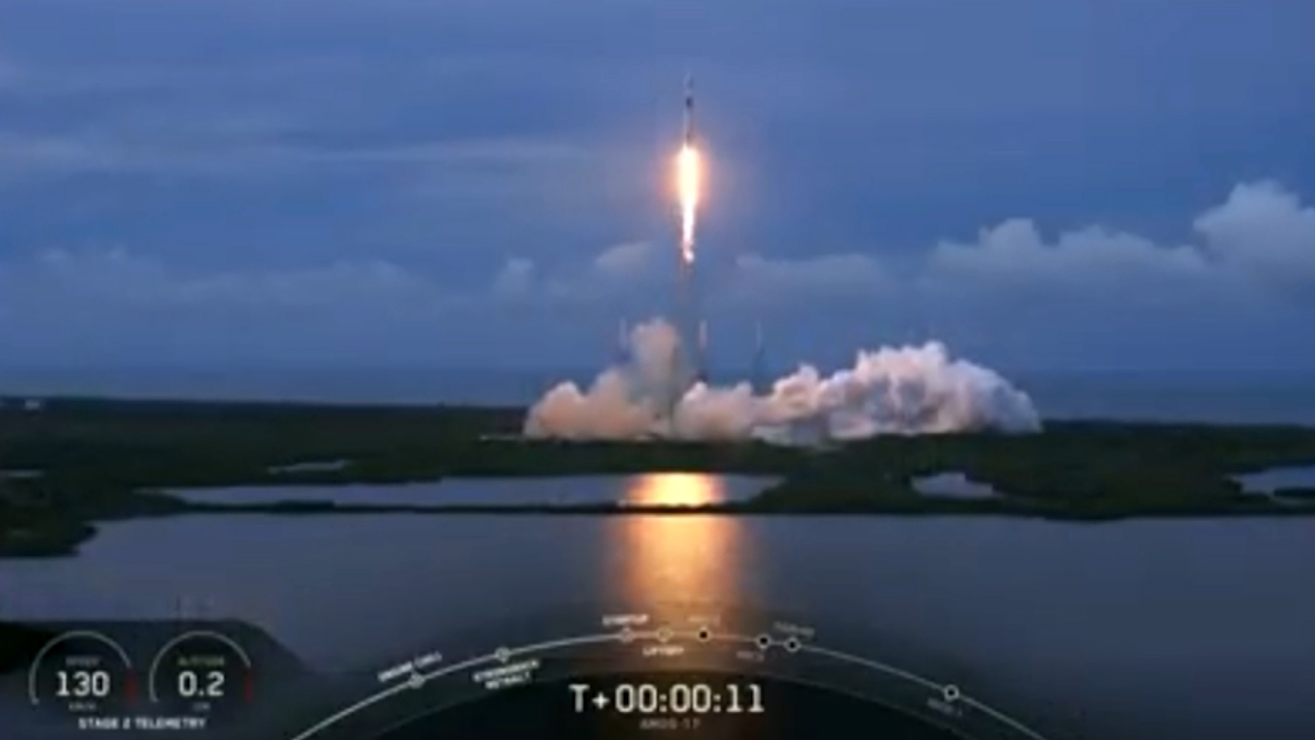 Space X Captures Rocket S Fairing After Launching Amos 17