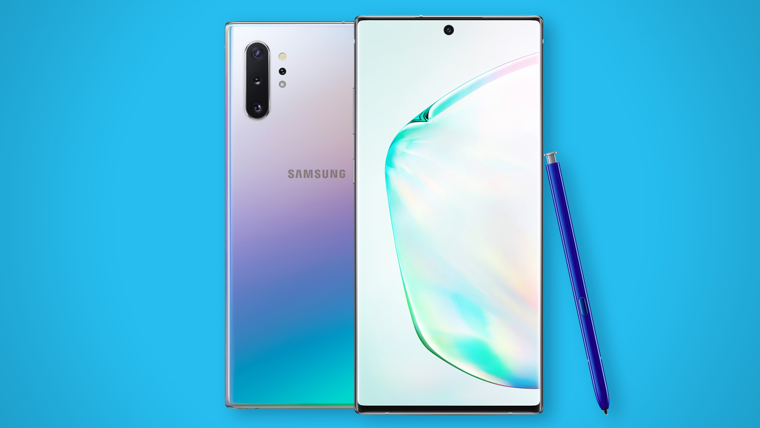 The newly-announced Samsung Galaxy Note10 smartphone