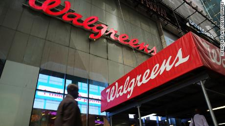 Walgreens will close about 200 stores in the United States