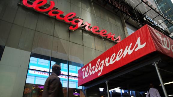 NEW YORK, NY - SEPTEMBER 30:  A Walgreens