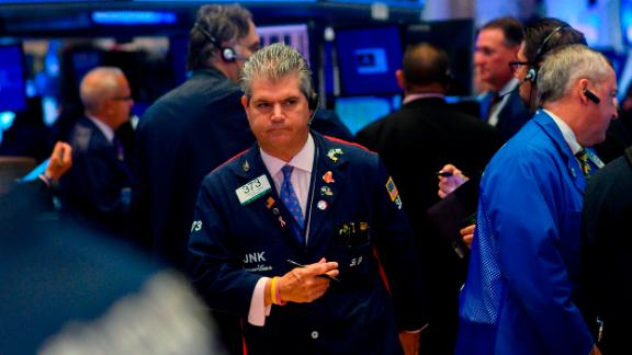 Traders work after the opening bell at the New York Stock Exchange (NYSE) on August 5, 2019 at Wall Street in New York City. - Selling on Wall Street accelerated early Monday as a steep drop in the Chinese yuan escalated the US-China trade war following President Trump's announcement of new tariffs last week. (Photo by Johannes EISELE / AFP)        (Photo credit should read JOHANNES EISELE/AFP/Getty Images)