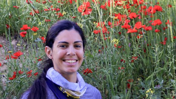 """This handout photograph taken on April 20, 2018 at Athalassa Park near the Cypriot capital Nicosia, and provided by Cyprus Trail Runners on August 7, 2019, shows Nathalie Christopher, a 35-year-old British scientist who went missing on the Aegean island of Ikaria. - The Nicosia-based astrophysicist,  who had been on holiday with her partner, reportedly failed to return from a run on August 5, 2019. The Greek police joined Ikaria port patrols, firefighters and volunteers already combing areas for the scientist. (Photo by Brian Pearson / Cyprus Trail Runners / AFP) / XGTY / RESTRICTED TO EDITORIAL USE - MANDATORY CREDIT """"AFP PHOTO /CYPRUS TRAIL RUNNERS"""" - NO MARKETING - NO ADVERTISING CAMPAIGNS - NO ARCHIVES  ---- DISTRIBUTED AS A SERVICE TO CLIENTS - MANDATORY MENTION OF THE ARTIST UPON PUBLICATION - TO ILLUSTRATE THE EVENT AS SPECIFIED IN THE CAPTION /         (Photo credit should read BRIAN PEARSON/AFP/Getty Images)"""