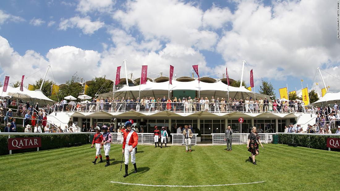 The facilities at Goodwood offer good views over the parade ring and winner's enclosure.