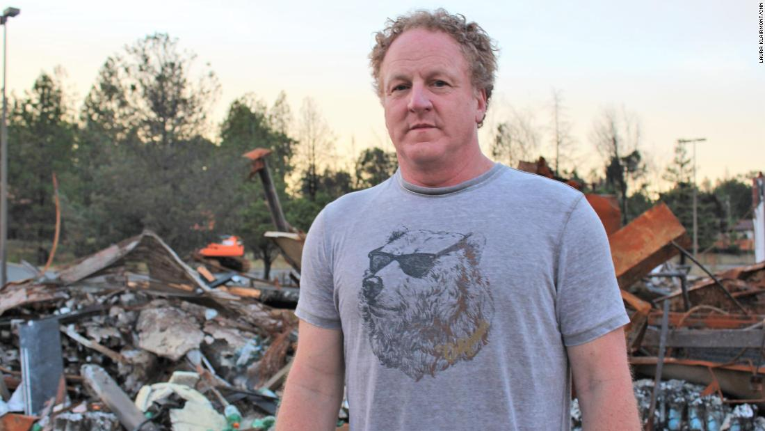 He's fixing up old RVs for families who lost their homes to California's worst wildfire
