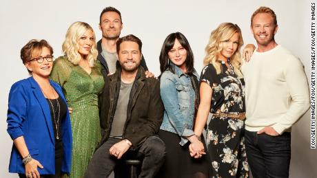 """BH90210"" airs Wednesday on Fox."