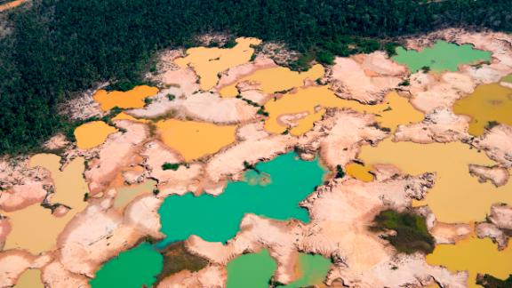Land degradation, including deforestation, produces almost a quarter of the world