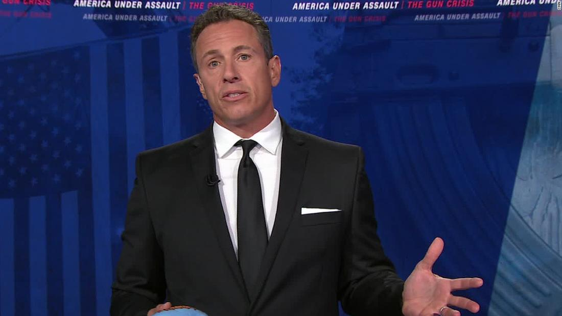 Chris Cuomo captured on video in heated altercation