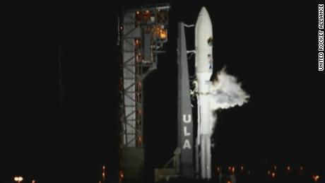 Watch as Atlas V rocket lifts off