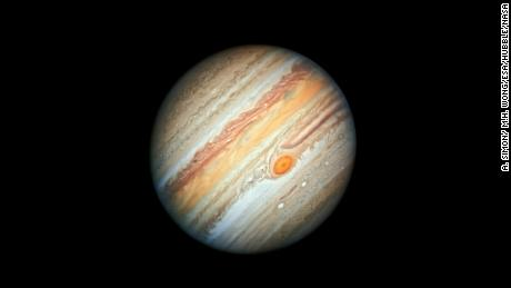 Jupiter's Great Red Spot is not dying, scientist says