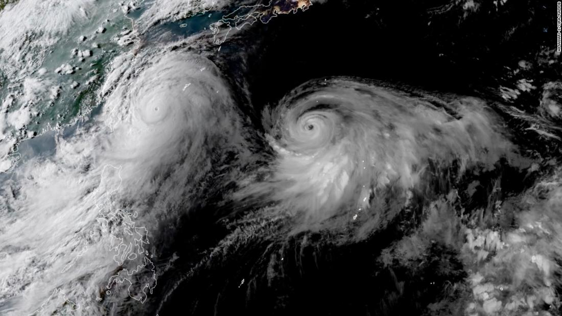 Lekima downgraded from super typhoon as it approaches China