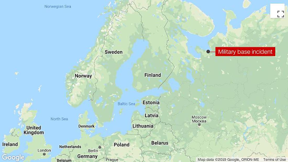 Radiation levels rose briefly after deadly incident in northern Russia, official tells state media