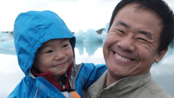 Xiyue Wang and his son Shaofan are seen in this undated photo.