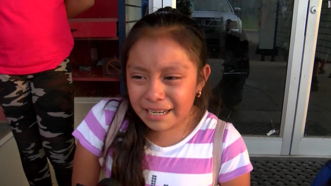 A girl who begged for her dad's release after the Mississippi ICE raids reunited with her father